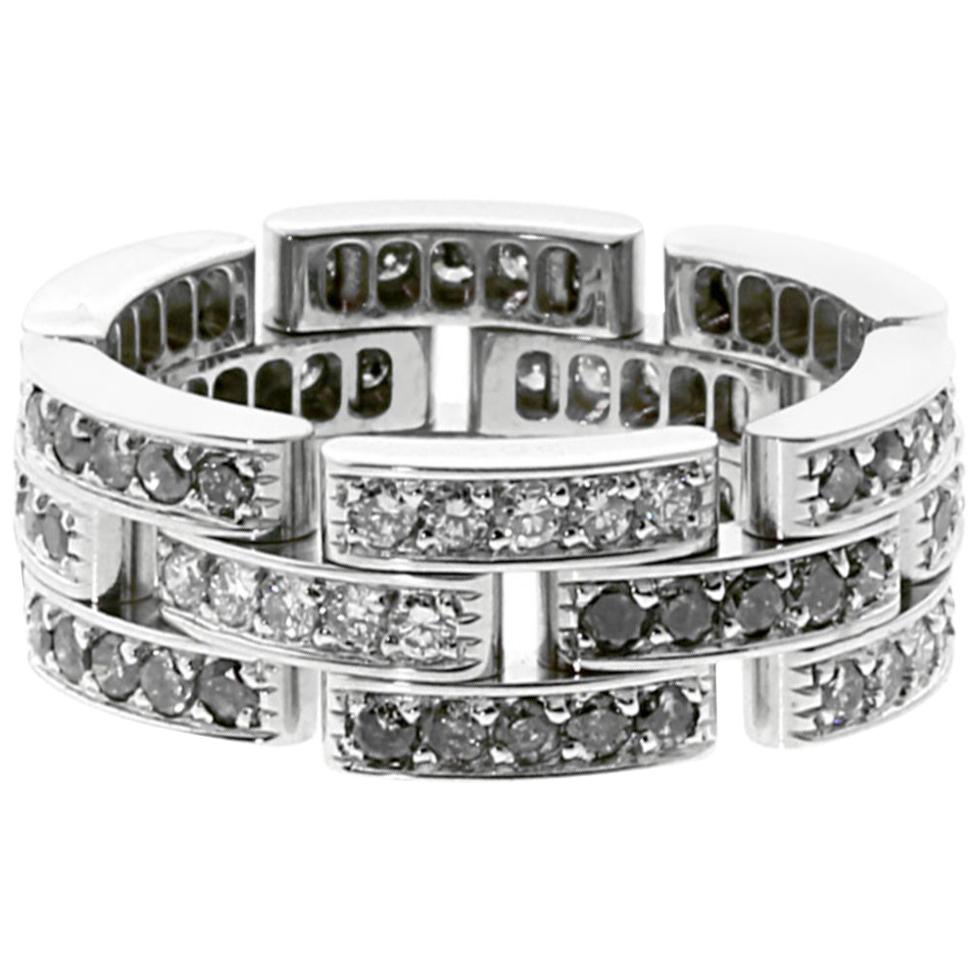 Cartier Limited Edition Maillon Panthere Diamond Ring