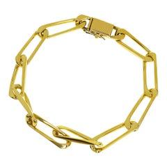 Cartier Link Chain 18 Karat Yellow Gold Bracelet