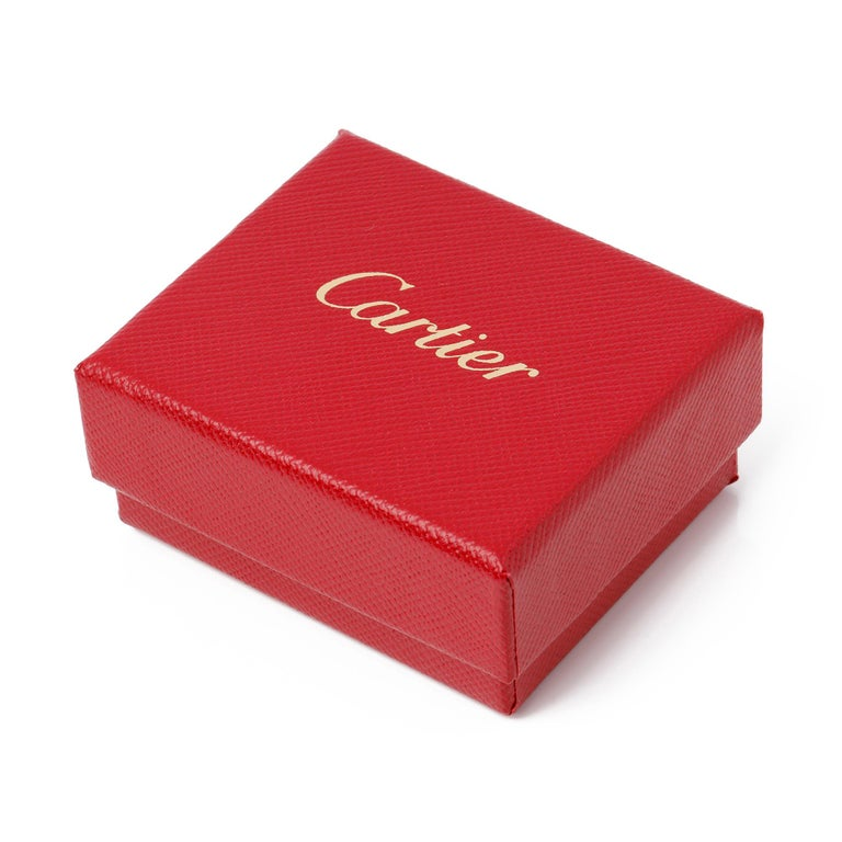 Cartier Love 18ct Gold Charm Pendant 2