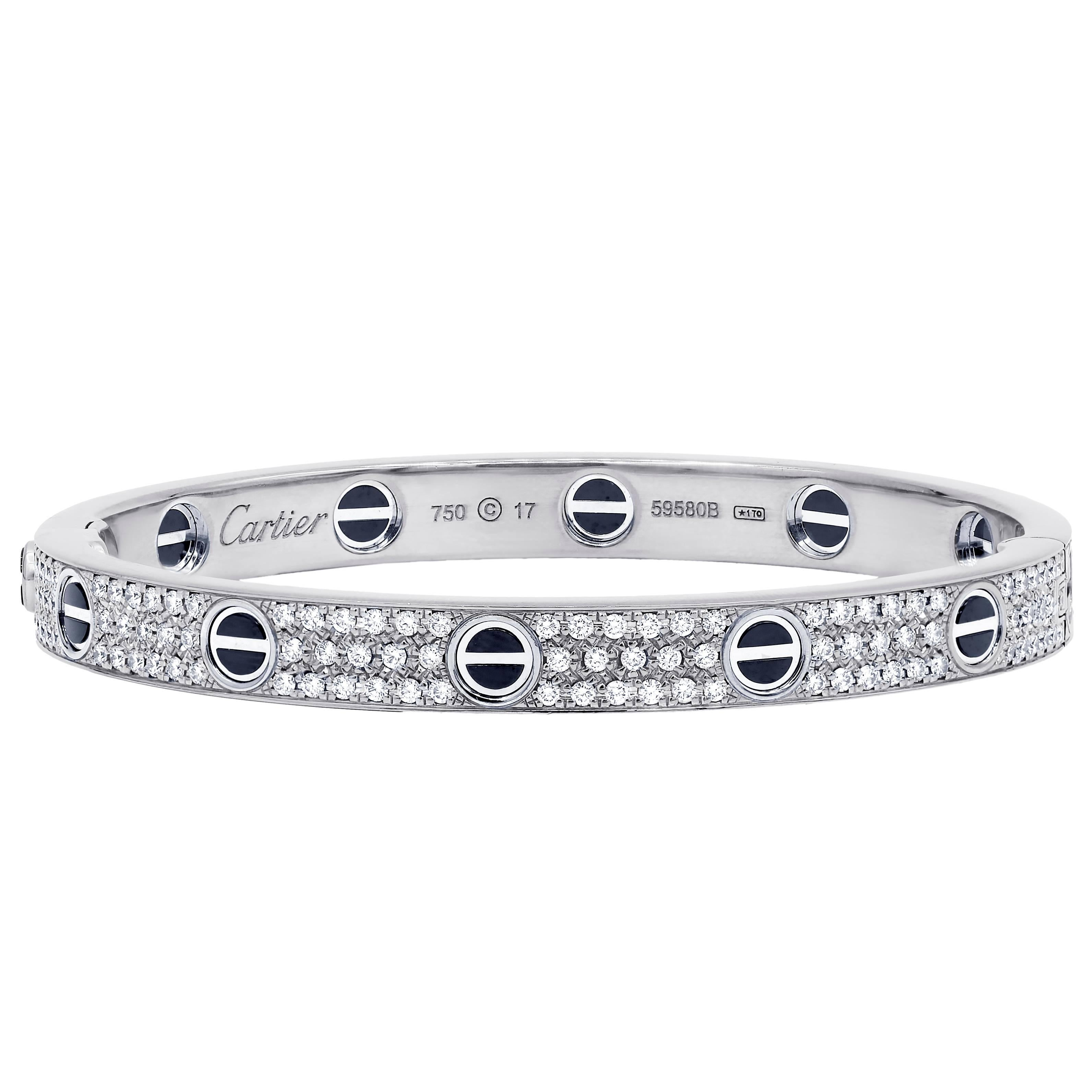 shipping bracelet tennis diamond bangle product pave jewelry tdw white gold g row bangles f today free watches overstock