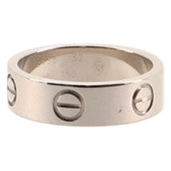 Cartier Love Band Ring 18 Karat White Gold