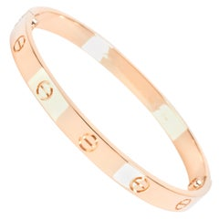 Cartier Love Bangle in 18 Karat Rose Gold