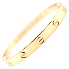 Cartier Love Bracelet 18 Karat Rose Gold
