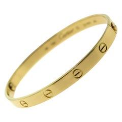 Cartier Love Bracelet, 18 Karat Yellow Gold 'C-251'