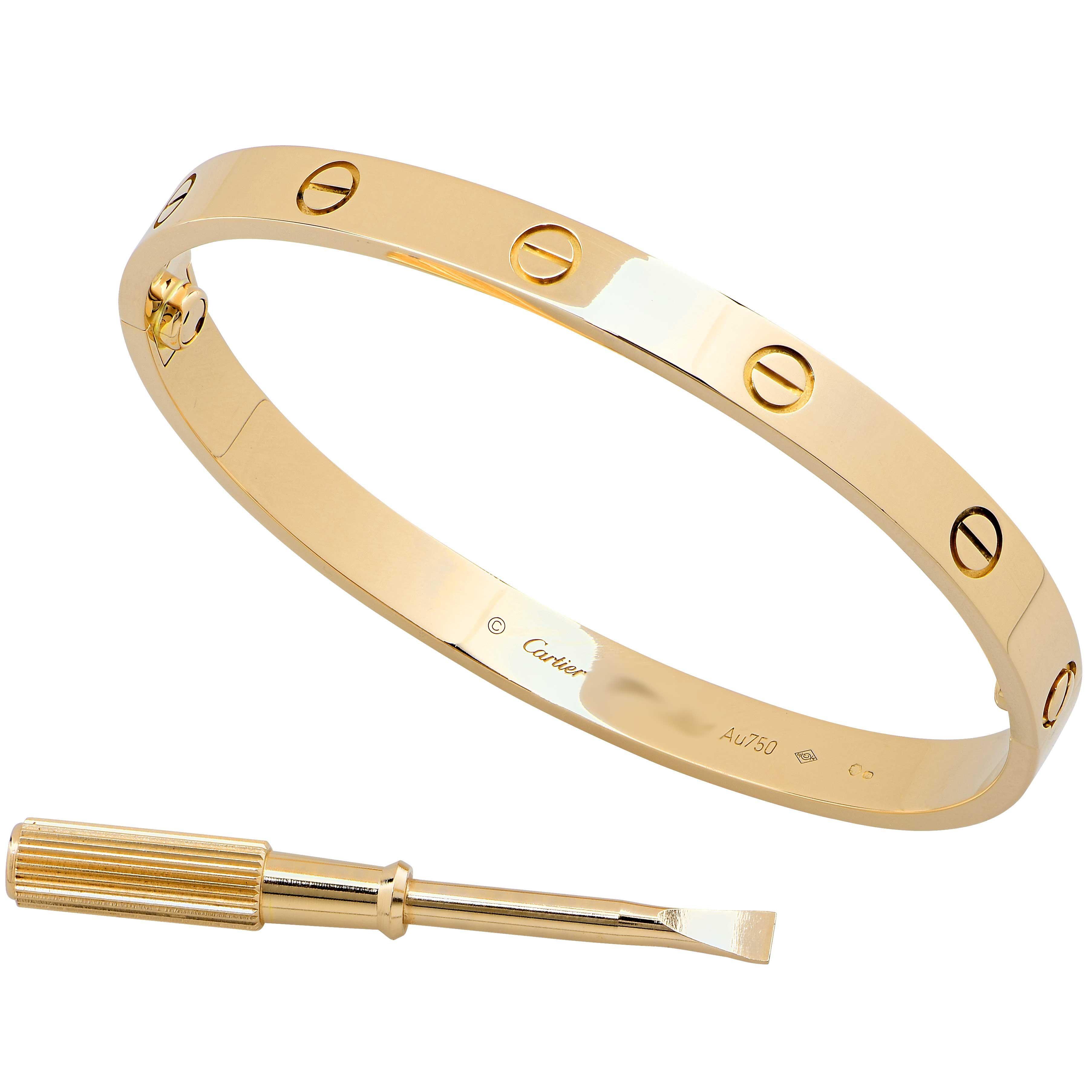 09d3077d05e4e Cartier Love Bracelet 18 Karat Yellow Gold