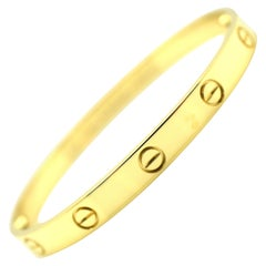 Cartier Love Bracelet 18 Karat Yellow Gold