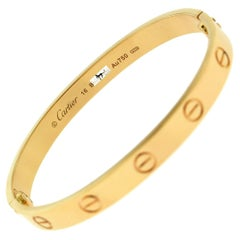 Cartier Love Bracelet in 18 Karat Rose Gold, 'C-311'