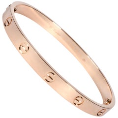 Cartier Love Bracelet in 18 Karat Rose Gold