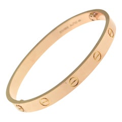 Cartier Love Bracelet in 18 Karat Rose Gold