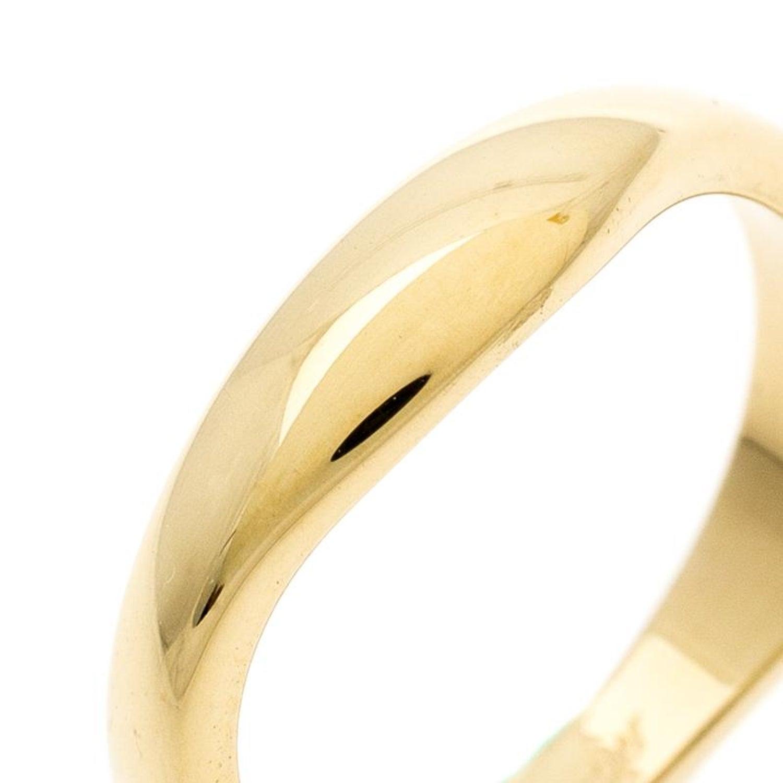 e9d861d08518b Cartier Love Me 18k Yellow Gold Band Ring Size 54