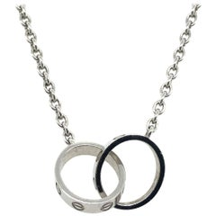 Cartier Love Necklace in 18 Karat White Gold