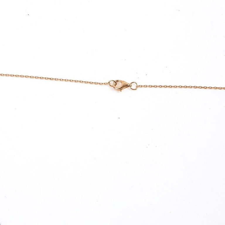 Cartier Love Necklace in 18k Pink Gold Metal In Excellent Condition For Sale In Paris, FR