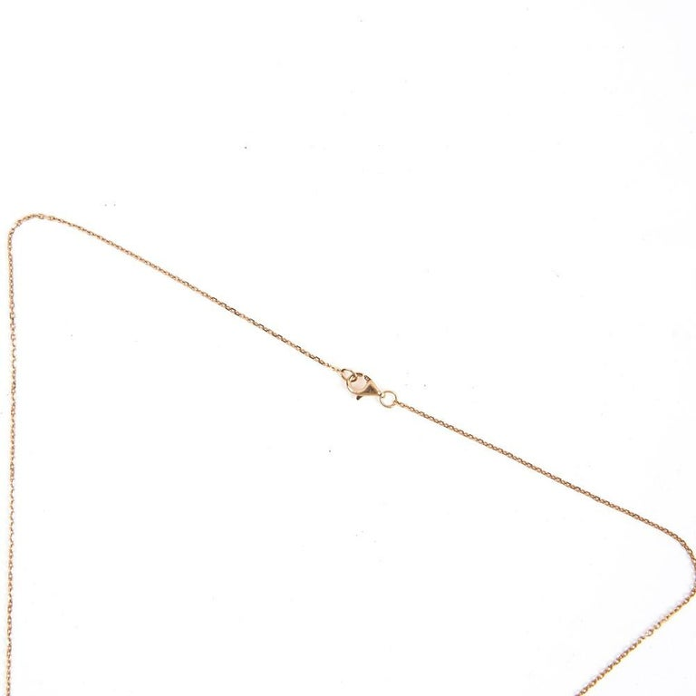 Women's Cartier Love Necklace in 18k Pink Gold Metal For Sale
