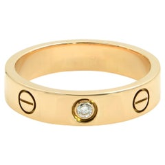 Cartier Love Ring 18 Karat Rose Gold