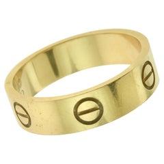 Cartier Love Ring 18 Karat Rose Gold, Ring