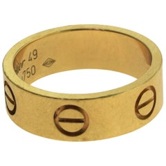 Cartier Love Ring Yellow Gold, Papers, Ring