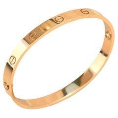 Cartier Love Rose Gold Bracelet B6035600
