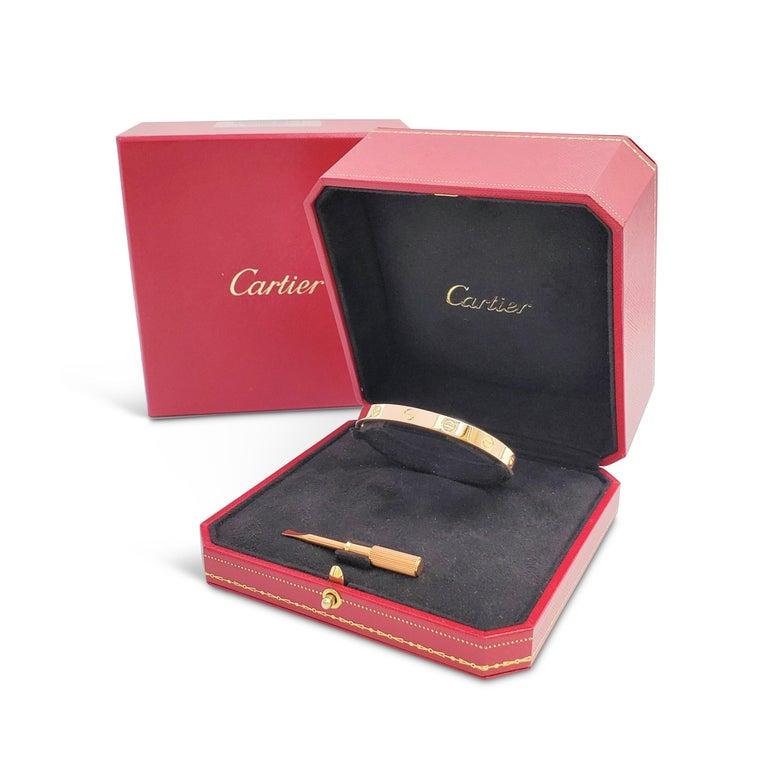 Cartier 'Love' Rose Gold Bracelet 2