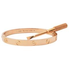 Cartier 'Love' Rose Gold Bracelet