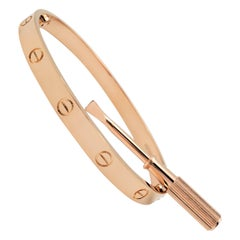 Cartier 'Love' Rose Gold Bracelet