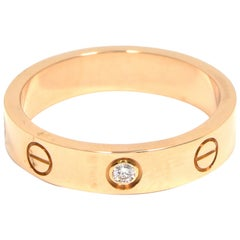 Cartier Love Rose Gold Wedding Band 'X-137'