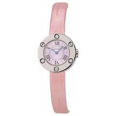 Cartier Love Watch in White Gold, Circa 2010