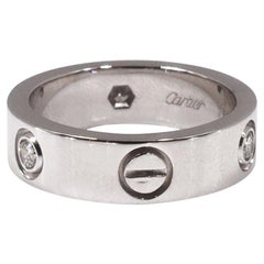 Cartier Love White Gold Ring