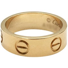 Cartier 'Love' Yellow Gold Ring