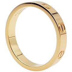 Cartier 'Love' Yellow Gold Wedding Band