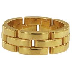 Cartier Maillon Panthere 18 Karat Yellow Gold Ring