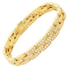 Cartier 'Maillon Panthere' Diamond Link Bracelet