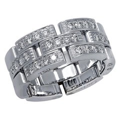 Cartier Maillon Panthere Diamond Wedding Band