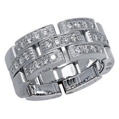 Cartier Mailon Panthre Diamond Wedding Band