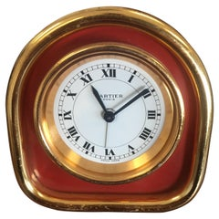 Cartier Mechanical Desk Alarm Clock