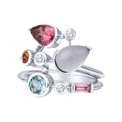 Cartier Meli Melo Multicolored Gemstone Ring