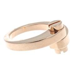 Cartier Menotte Rose Gold Ring