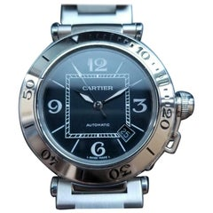 CARTIER Men's Pasha Seatimer 2790 21J Automatic with Date, c.2000s Swiss LV720