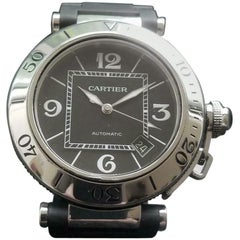 Cartier Men's Pasha Seatimer 2790 Automatic w/Date, c.2000s Swiss Luxury LV719