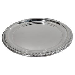 Cartier Midcentury Classical Sterling Silver Tray