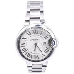 Cartier Midsize Ballon Bleu Stainless Steel Watch Ref. 3653