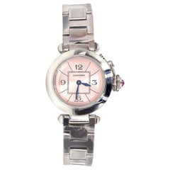 Cartier Miss Pasha Watch with Pink Dial W3140008