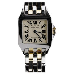 Cartier Mixed Metals Luxury Watch