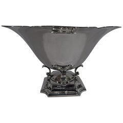 Cartier Modern Classical Sterling Silver Centerpiece Bowl