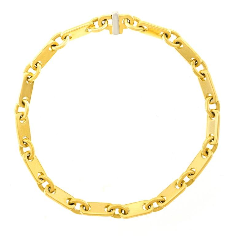 Cartier Modernist Gold Link Bracelet