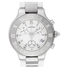 Cartier Must 21 2424, White Dial, Certified and Warranty