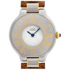 Cartier Must 21 A00382 Stainless Steel Quartz Watch