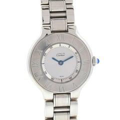 Cartier Must 21 Ladies Stainless Steel Watch