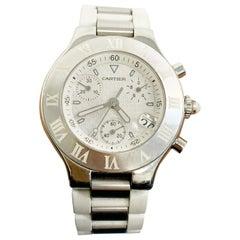 Cartier Must 21 Man's Watch