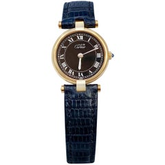 "Cartier ""Must De"" Argent Vermeil Women's Watch"