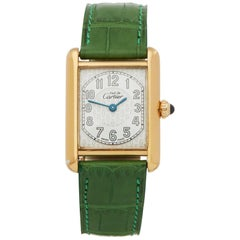 Cartier Must de Cartier 2415 Men Gold-Plated Watch